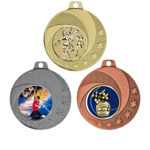 Medalj i 3 valörer